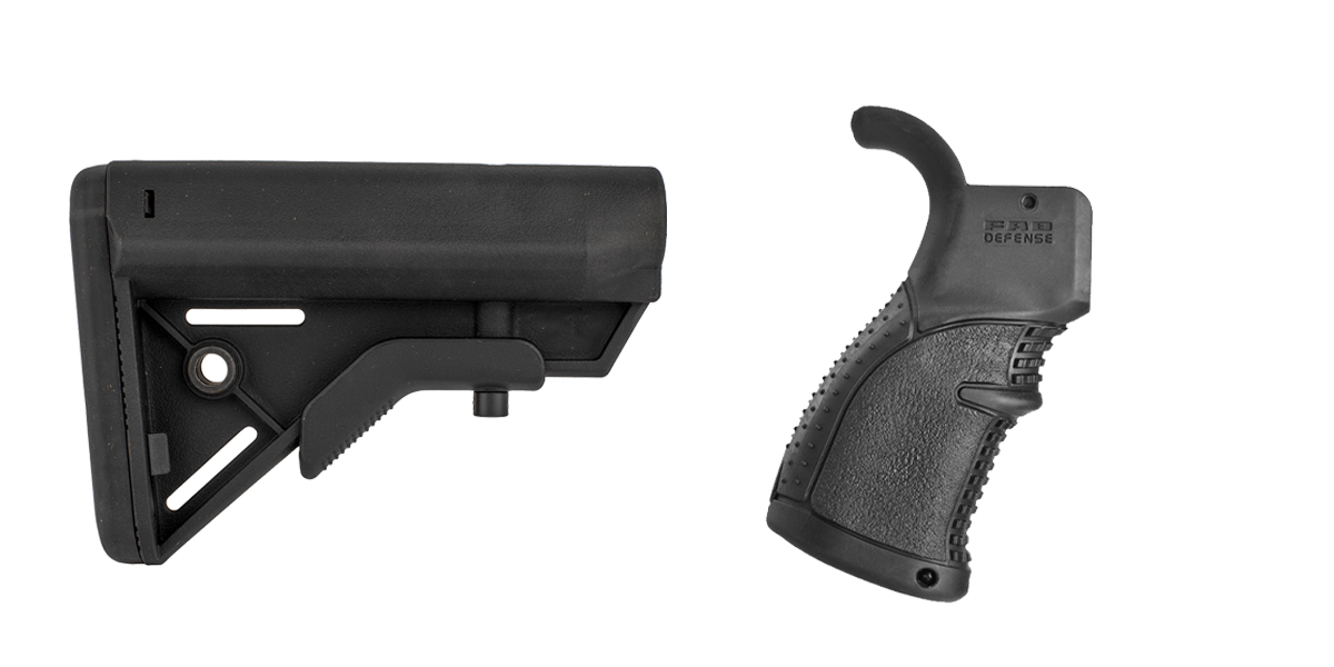 Delta Deals Stock and Pistol Grip Furniture Set: Featuring Davidson Defense + FAB Defense