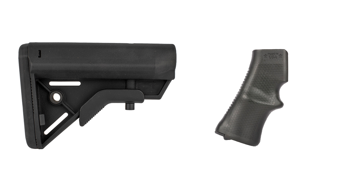 Delta Deals Stock and Pistol Grip Furniture Set: Featuring Davidson Defense + A*B Arms