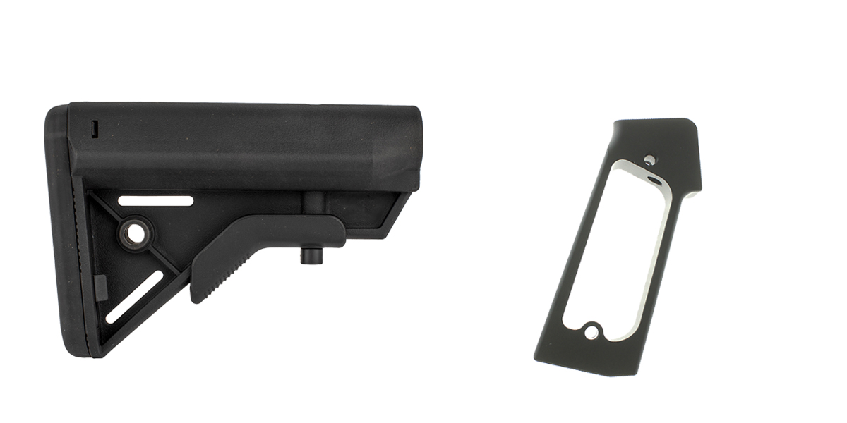 Delta Deals Stock and Pistol Grip Furniture Set: Featuring Davidson Defense + JE Machine