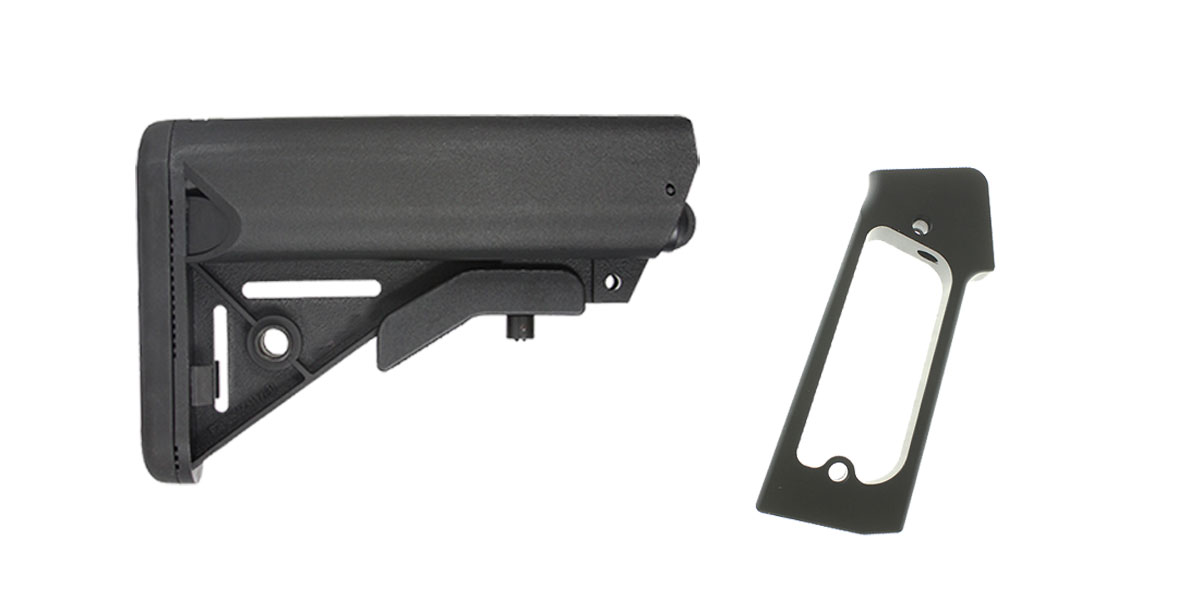 Delta Deals Stock and Pistol Grip Furniture Set: Featuring Lakota Ops + JE Machine