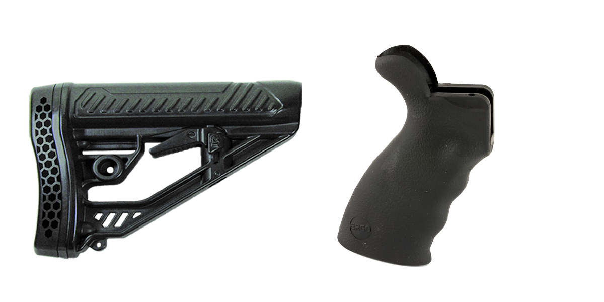 Delta Deals Stock and Pistol Grip Furniture Set: Featuring Adaptive Tactical + ERGO