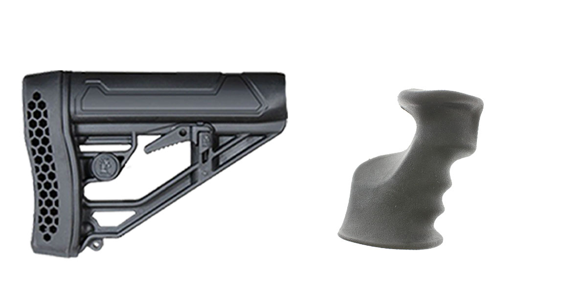 Delta Deals Stock and Pistol Grip Furniture Set: Featuring Adaptive Tactical + JE Machine