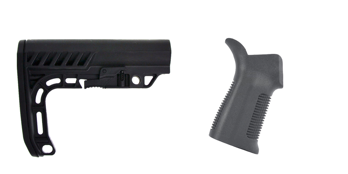 Delta Deals Stock and Pistol Grip Furniture Set: Featuring Lakota Ops + Trinity Force