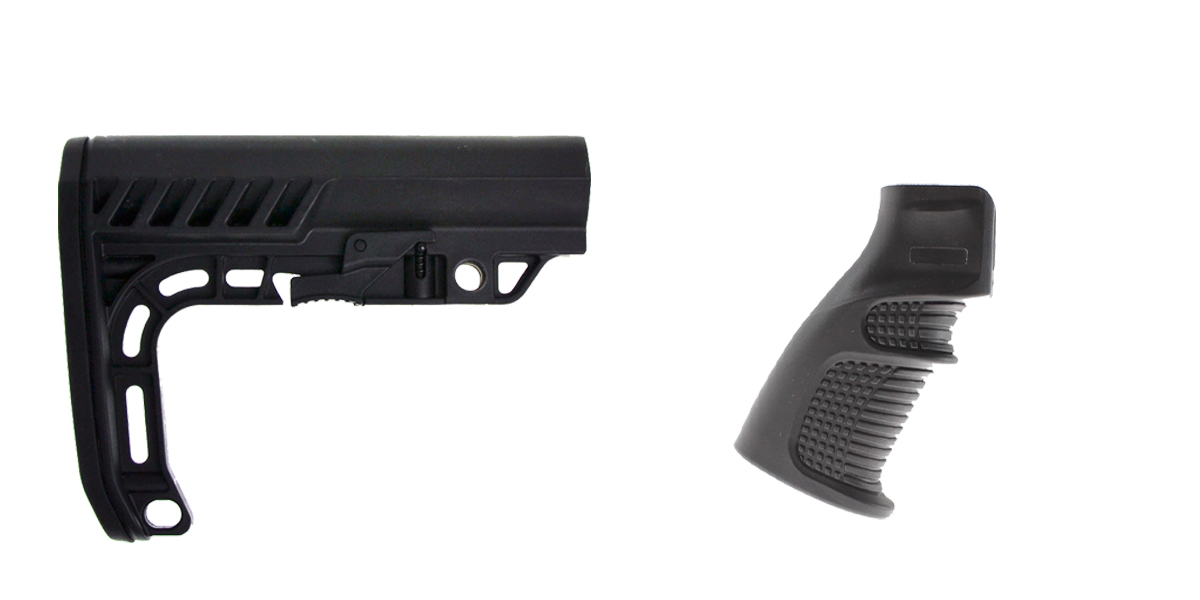 Delta Deals Stock and Pistol Grip Furniture Set: Featuring Lakota Ops + United Defense