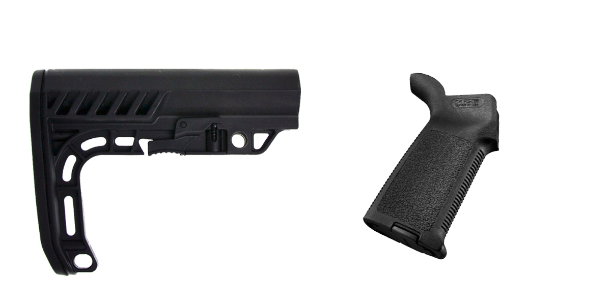 Delta Deals Stock and Pistol Grip Furniture Set: Featuring Lakota Ops + Magpul