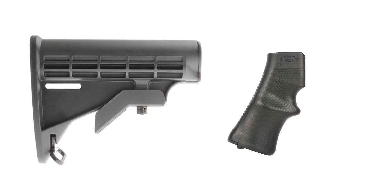Delta Deals Stock and Pistol Grip Furniture Set: Featuring Lakota Ops + A*B Arms