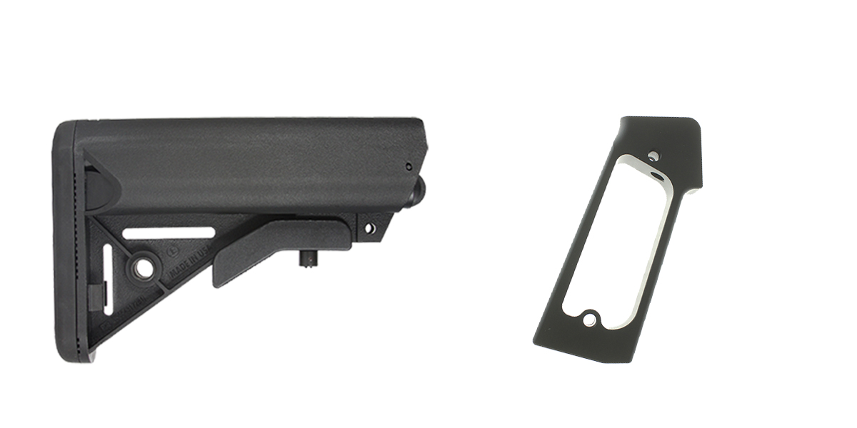 Delta Deals Stock and Pistol Grip Furniture Set: Featuring JE Machine + JE Machine