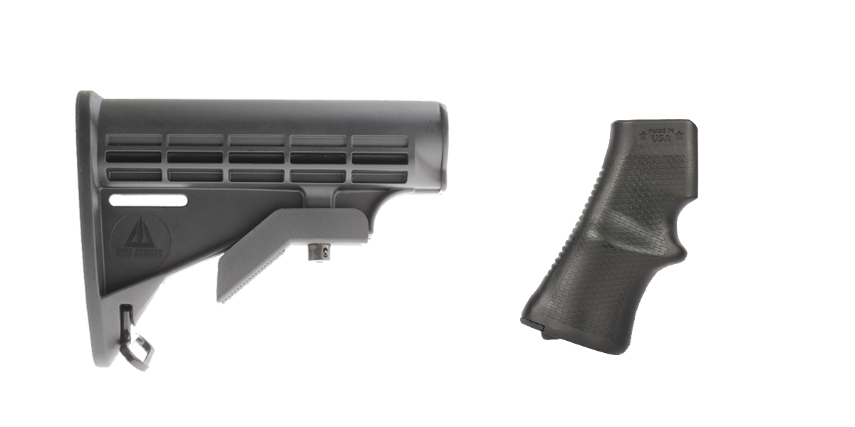 Delta Deals Stock and Pistol Grip Furniture Set: Featuring MMC Armory + A*B Arms