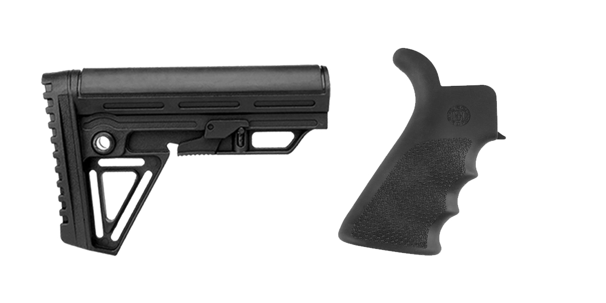 Delta Deals Stock and Pistol Grip Furniture Set: Featuring Trinity Force + Hogue