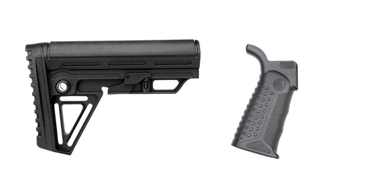 Delta Deals Stock and Pistol Grip Furniture Set: Featuring Trinity Force + Battle Arms Development