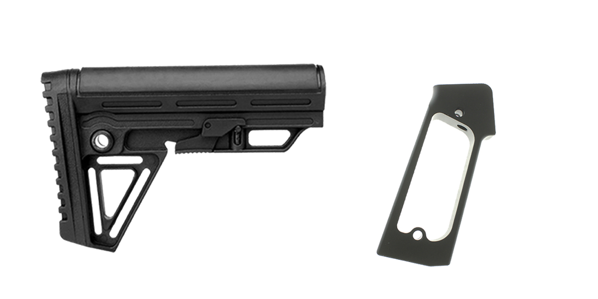 Delta Deals Stock and Pistol Grip Furniture Set: Featuring Trinity Force + JE Machine