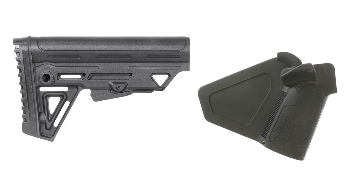 Delta Deals Stock and Pistol Grip Furniture Set: Featuring Trinity Force + NcStar