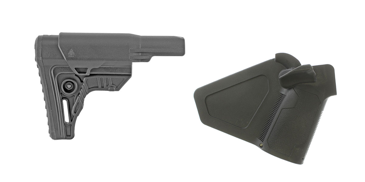 Delta Deals Stock and Pistol Grip Furniture Set: Featuring Leapers + NcStar