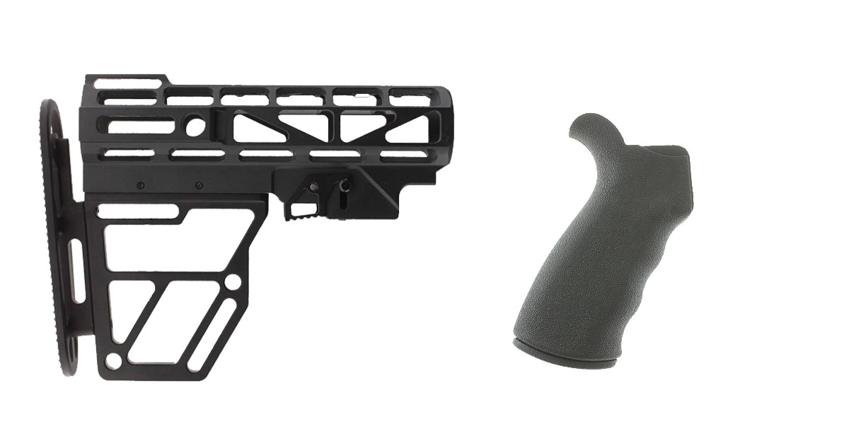 Delta Deals Stock and Pistol Grip Furniture Set: Featuring United Defense + Omega Mfg.