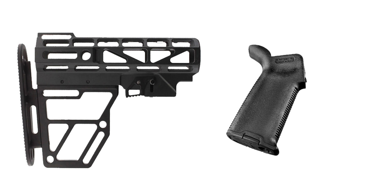 Delta Deals Stock and Pistol Grip Furniture Set: Featuring United Defense + Magpul