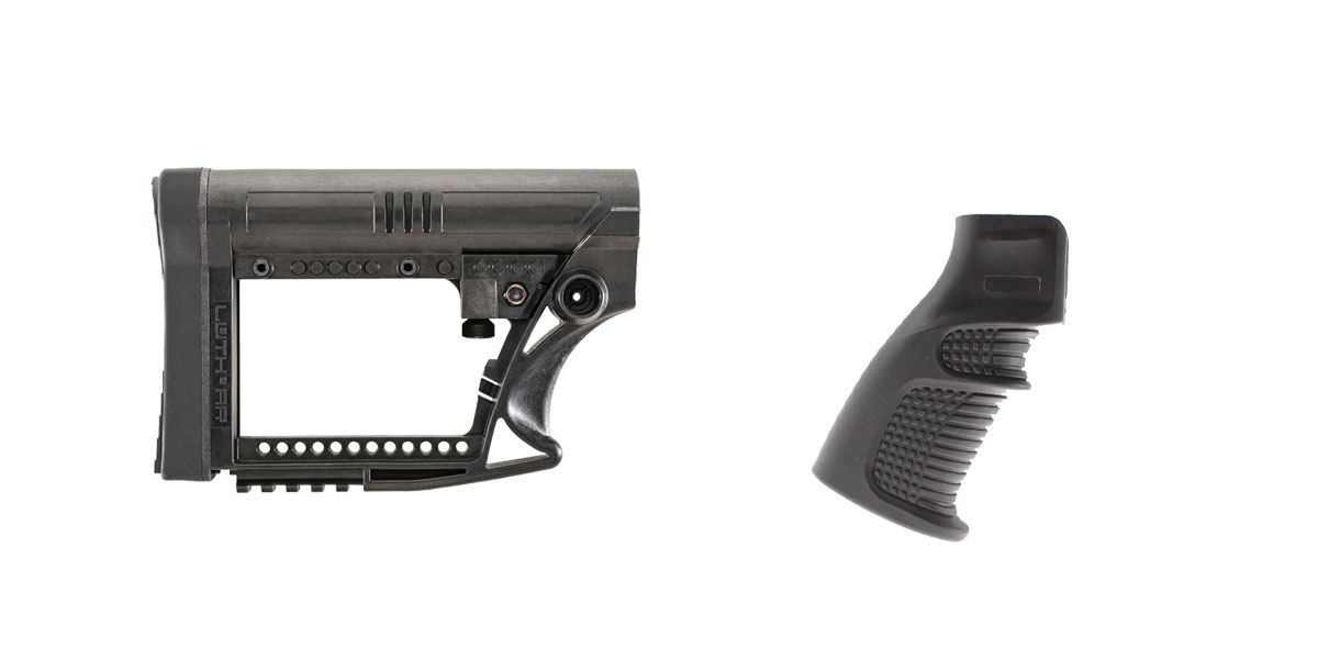 Delta Deals Stock and Pistol Grip Furniture Set: Featuring Luth-Ar + United Defense