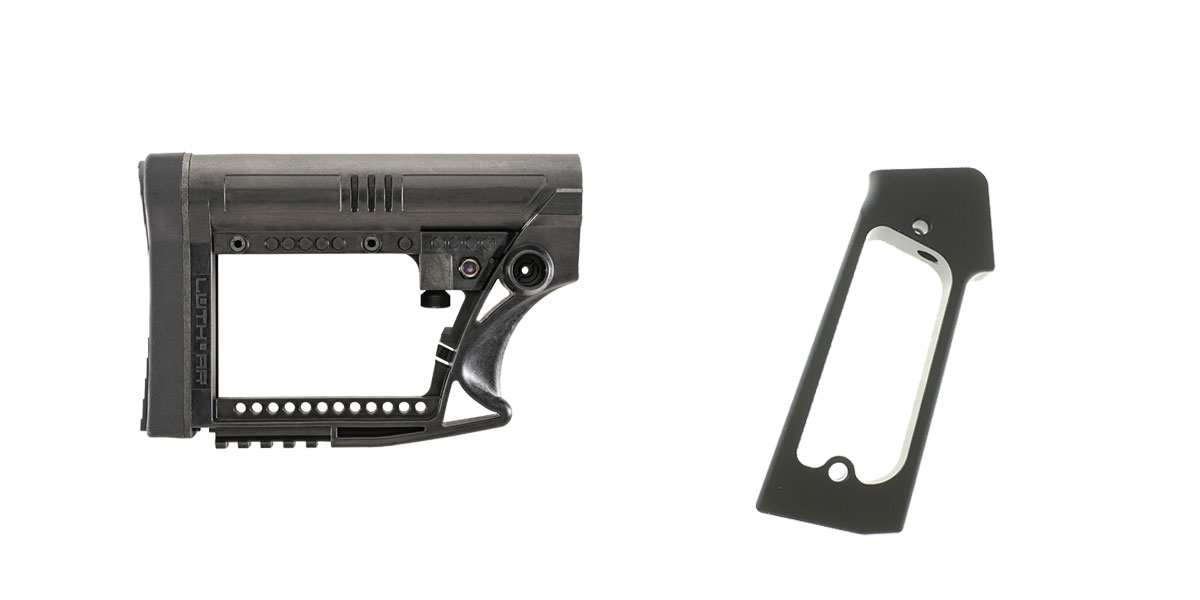 Delta Deals Stock and Pistol Grip Furniture Set: Featuring Luth-Ar + JE Machine