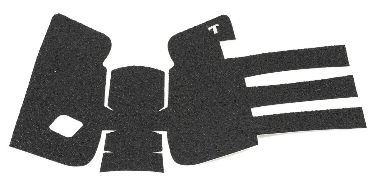TALON Grips Inc, Rubber, Grip, Black, Adhesive Grip, Fits Glock Gen3 19, 23, 25, 32, 38