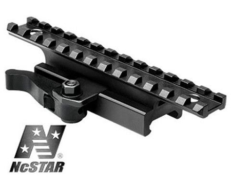 Ncstar Ar Riser With Quick Release Mount Fits Picatinny
