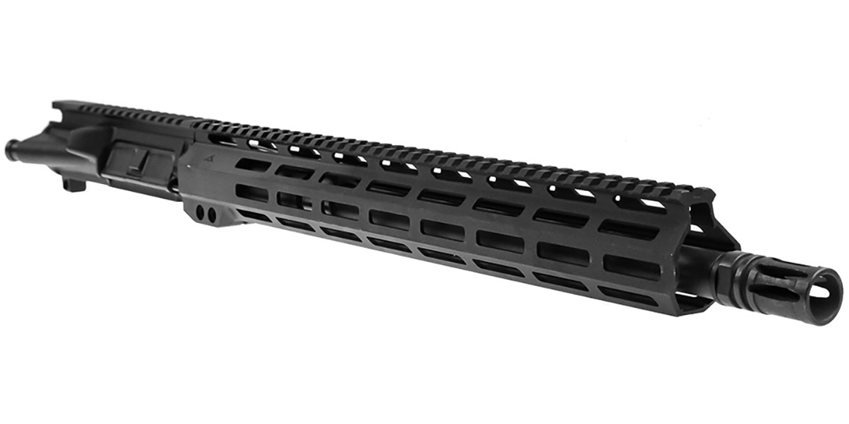 "Davidson Defense AR-15 ""Jovi"" Upper Receiver 16"" 300 Blackout 4150 CMV 1-8T  Barrel Slim 15"" MLOK Handguard"