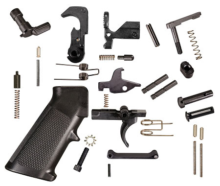 Tactical Superiority  308 Mil-Spec Quality Lower Parts Kit (LPK) For AR-10