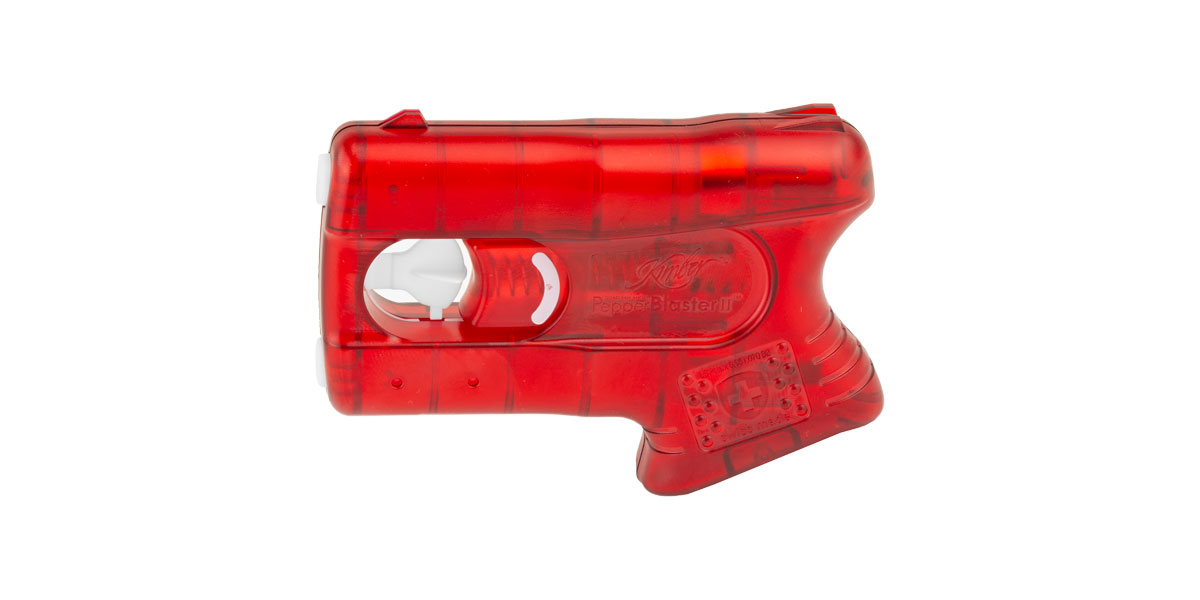 Kimber Pepperblaster II Pepper Spray - Red