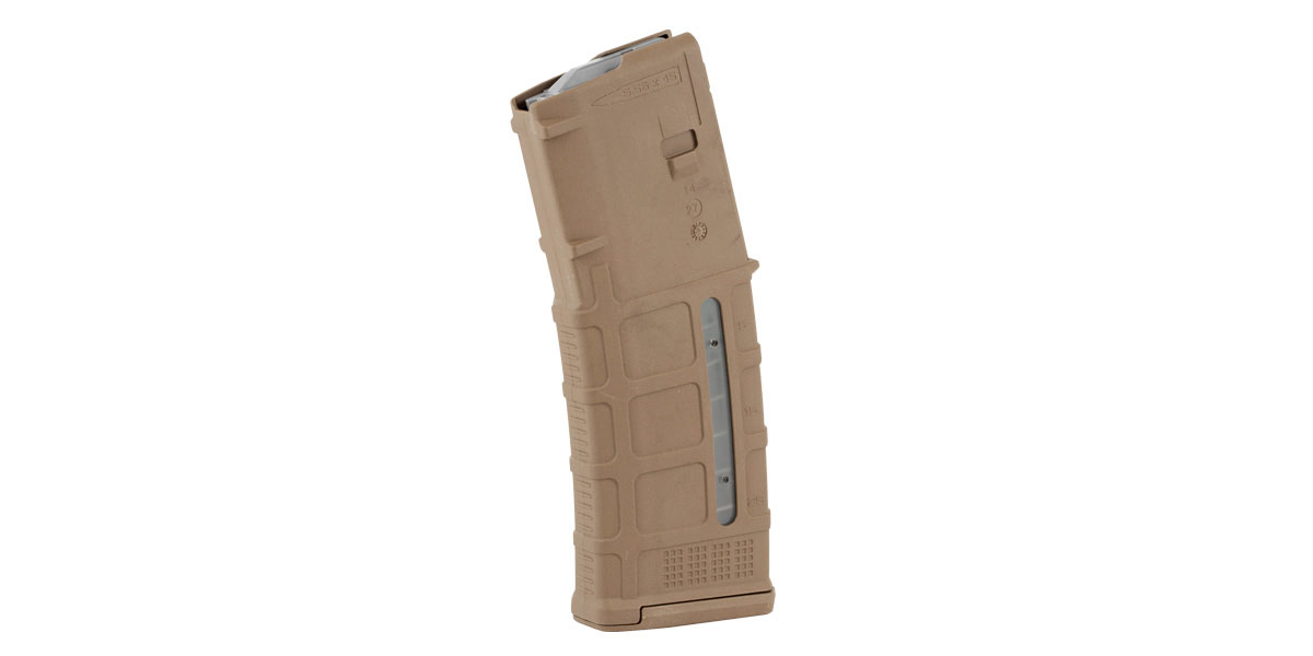 Magpul PMAG 30 Round AR/M4 M3 Window 5.56 Magazine - Medium Coyote Tan
