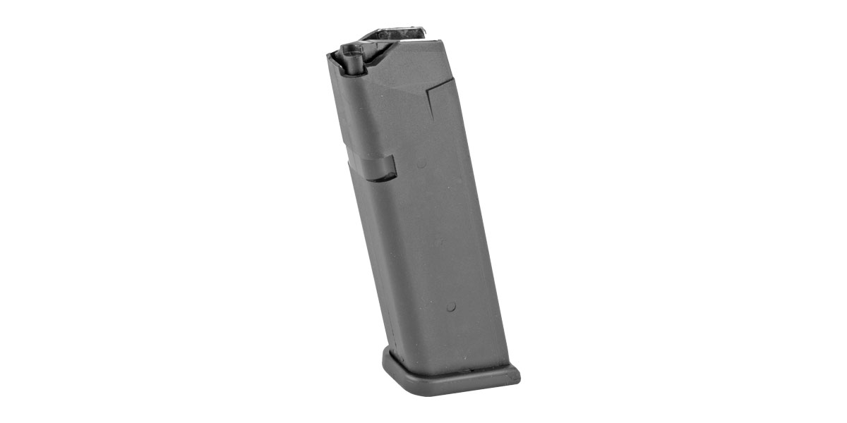 Glock Magazine for G22/G35, 15 Round Capacity, Black