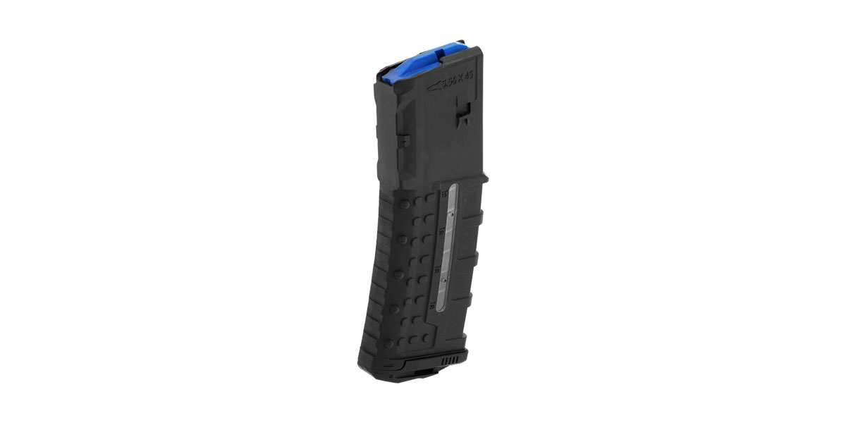 Leapers, Inc. - UTG Magazine with Window, 30 Round AR-15, Polymer, 5.56/.223, Black