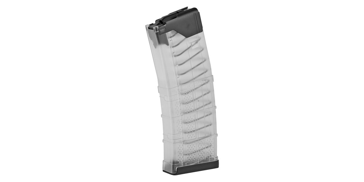 Lancer L5 Advanced Warfighter Magazine, 5.56/.223, 30Rd - Clear Finish