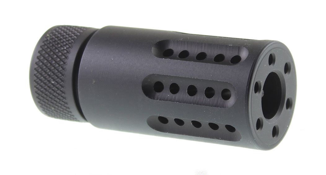 Guntec AR-15 1/2x28 Micro Slip Over Barrel Muzzle Brake