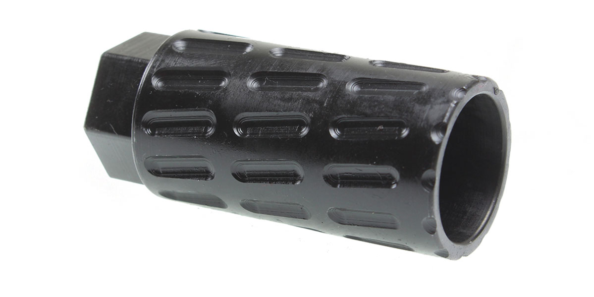 Recoil Technologies 5/8x24 Steel Flash Can