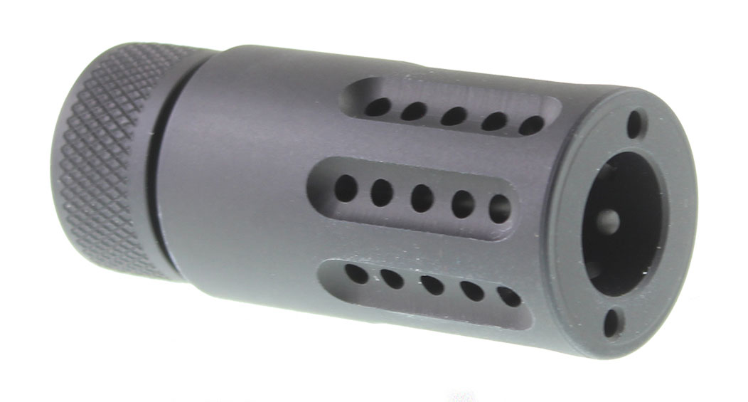 Guntec AR-15 5/8x24 Micro Slip Over Barrel Muzzle Brake