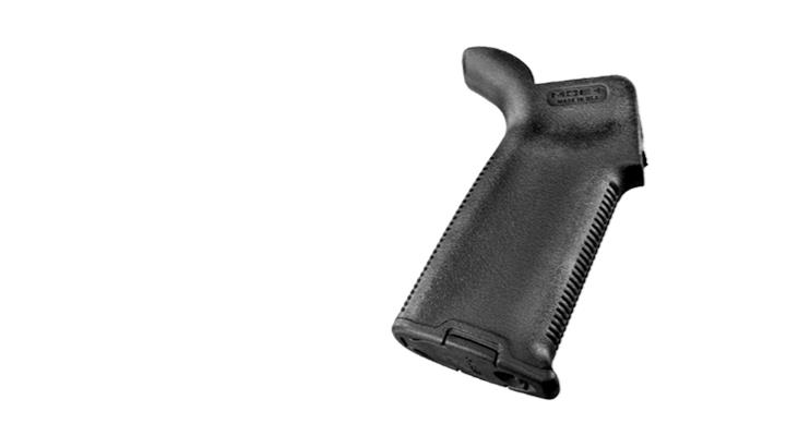 Magpul MOE Plus Pistol Grip AR-15 Rubber Overmold Enhanced Grip - Black  (Excellent Feel & Grip)