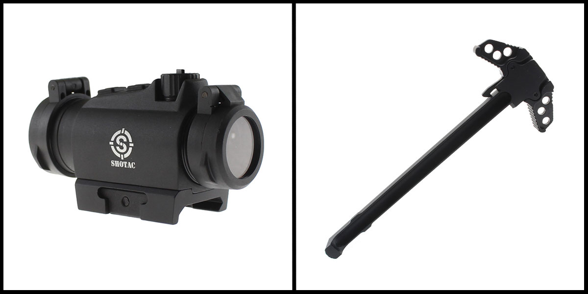 Delta Deals 20MM Objective Lens Micro Red Dot Sight w/ Low Profile 1913 Rail Mount +