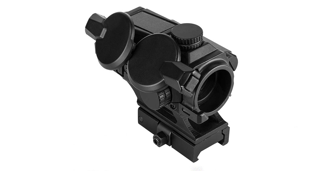 Vism SPD Solar Combat Red Dot Reflex Optic - Black