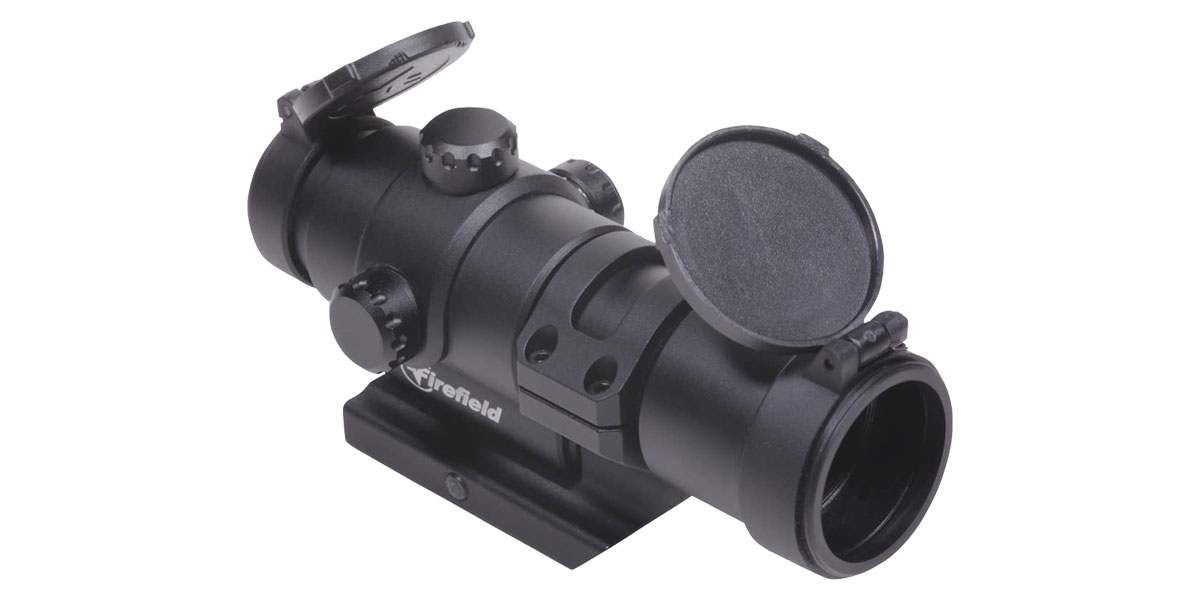 Firefield Impulse Red Dot Optic, 1x28mm, Illuminated Red/Green Circle Dot Reticle, Uses AAA Battery, Black