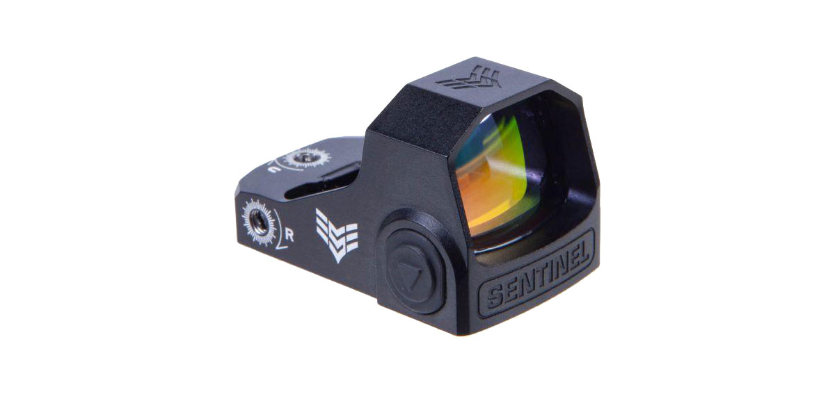 Swampfox Optics Sentinel 1x16 Sub-compact Micro Red Dot 3 MOA – Manual brightness