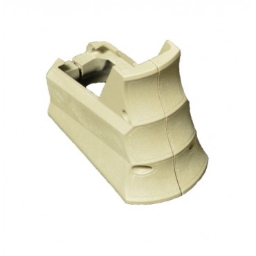 Armaspec Rhino R-23 Tactical Integrated Grip Magwell Funnel - FDE