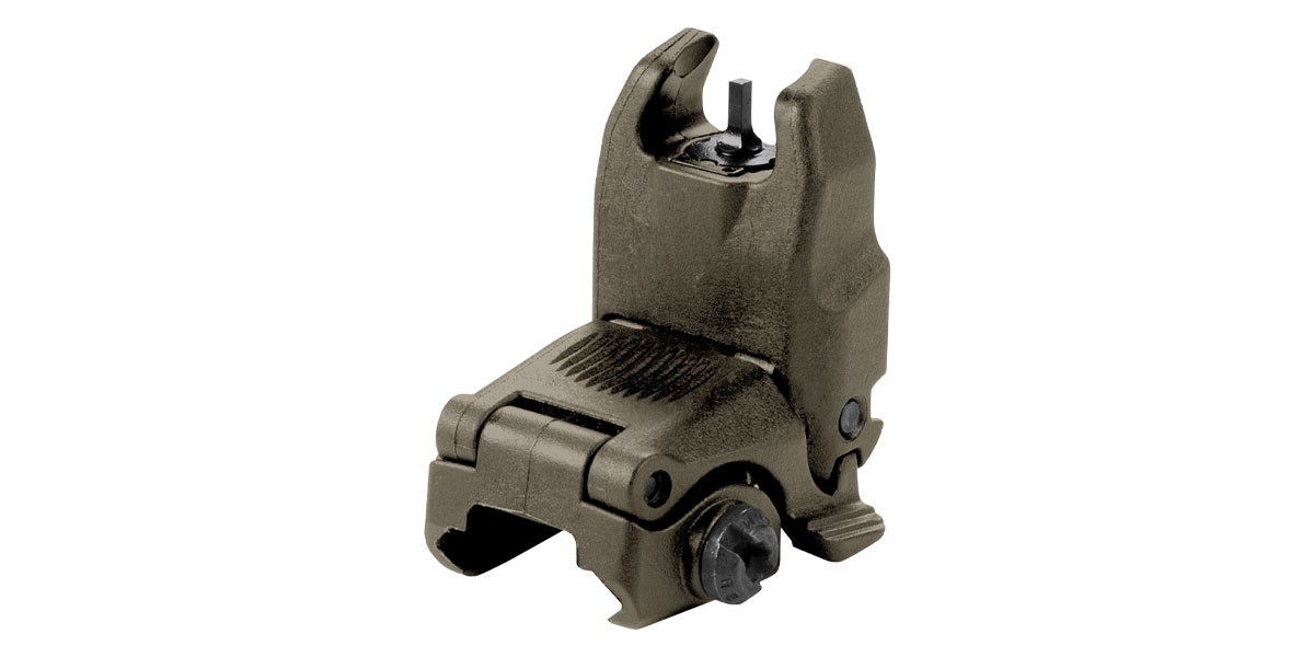 Magpul MBUS Front Flip Up Sight - OD Green