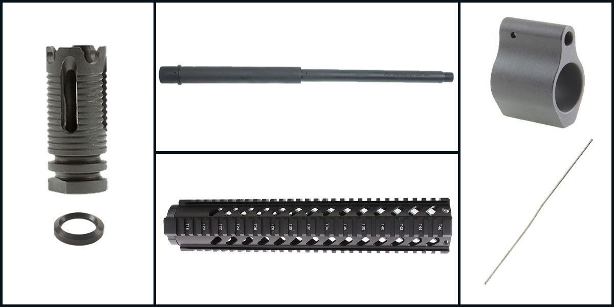Delta Deals AR-15 Upper Starter Kit Featuring: 16
