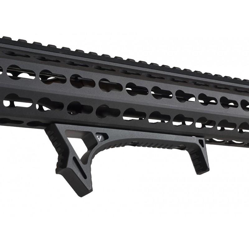 Aluminum Ergonomic Front Grip Curved Angled Foregrip For KeyMod Handguard Rail