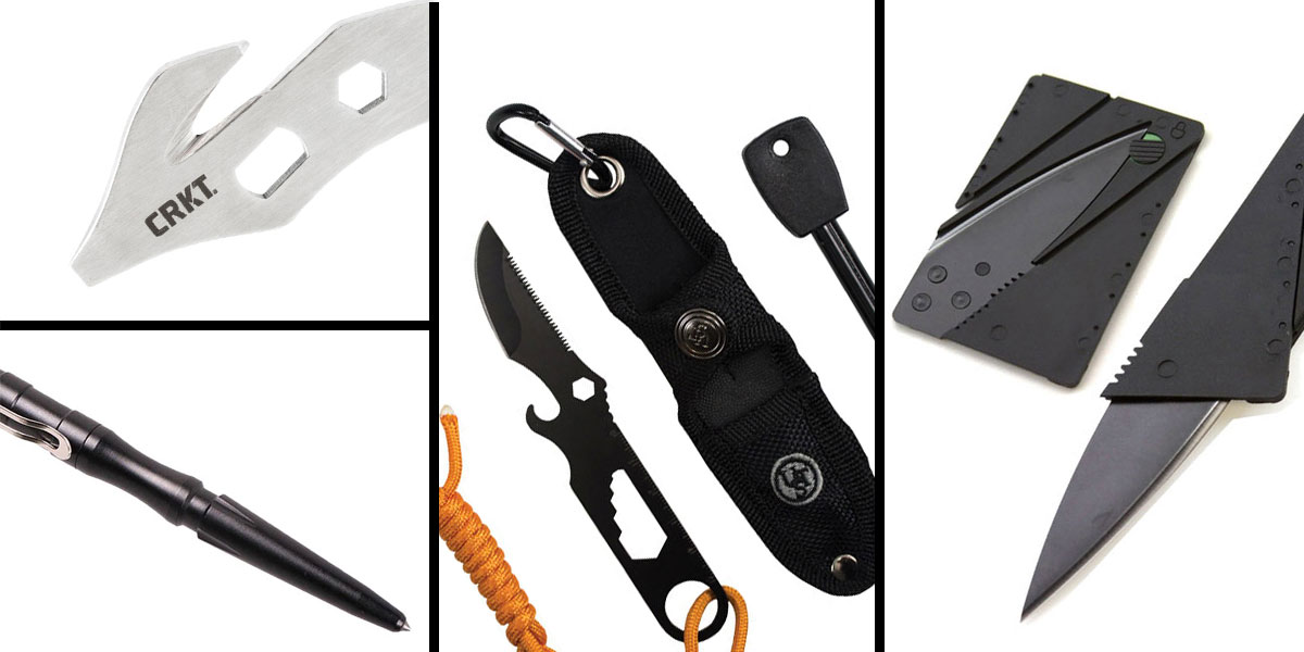 Tactical Gift Box CRKT, K.E.R.T. Key Ring Emergency Tool + UST Paraknife 2.0 FS + Tactical Pen Stainless Steel + 5.5