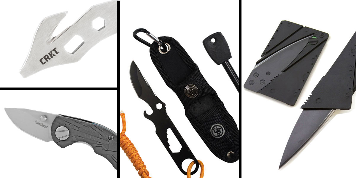 Tactical Gift Box CRKT, K.E.R.T. Key Ring Emergency Tool + UST Paraknife 2.0 FS + Kershaw Aftereffect Folding Knife + 5.5