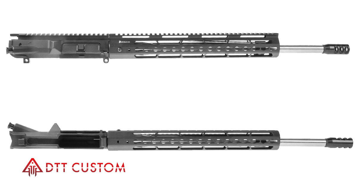 "DTT Customs ""Tomb Raider"" LR-308 Featuring Aero Precision M5 Upper 20""  Ultra-Match 416R Stainless  308 Win 1-10T Barrel 15"" KeyMod Handguard"