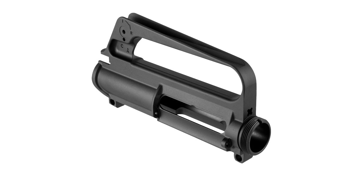 A1 Style Slick-Side Stripped Upper Receiver (No Shell Deflector, No Forward Assist)