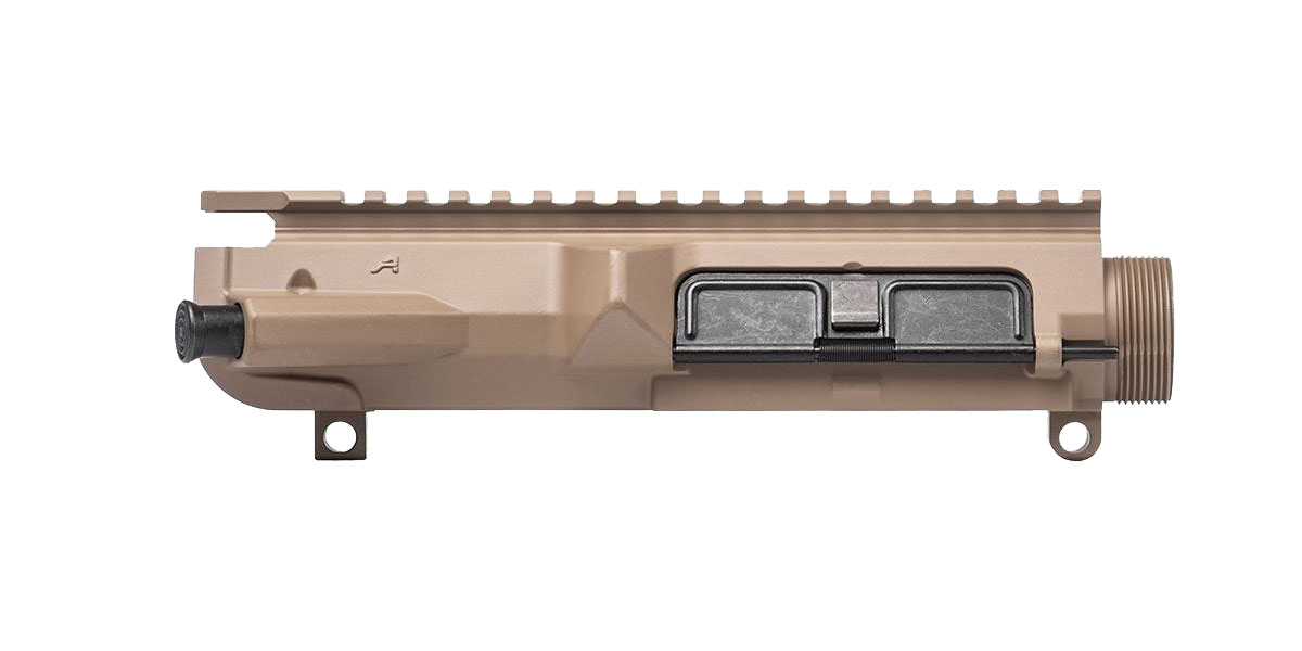 Aero Precision M5 Threaded Assembled Upper Receiver - FDE Cerakote *Prepped* (Forward Assist and Dust Cover Installed)