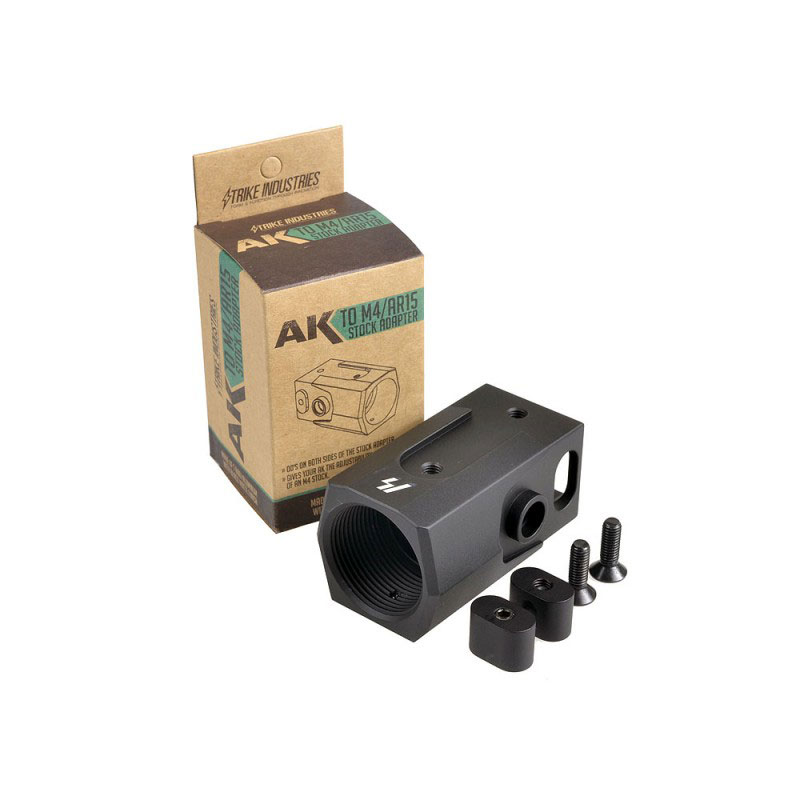 Strike Industries AK 47 & 74  to AR Buffer Tube Stock Adapter