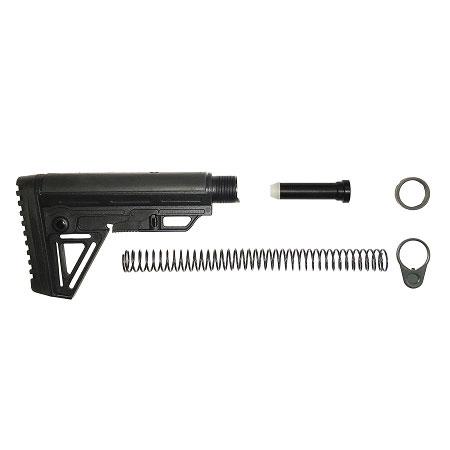 Alpha Combat Mil-Spec Carbine AR-15 Complete Stock Kit (Buffer Tube Kit &  Stock)