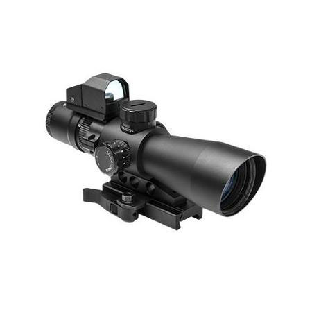 VISM Nc/star GEN 2 Mark III Tactical Rifle Scope 3-9X42 With Red Dot Combo Mil-Dot Reticle